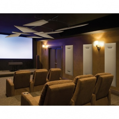 13_Flap-Chandelier_Residential_Home-Theater_Ceiling